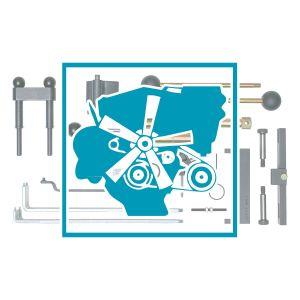 Motor - Motoreinstellung / Zahnriemen