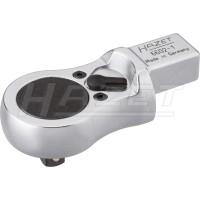 Einsteck-Umschaltknarre 6602 Extra flache Ausführung · Mit Einsteck-Vierkant