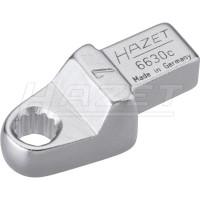 Einsteck-Ringschlüssel 6630C Einsteckvierkant9x12mm · Außensechskant-Profil